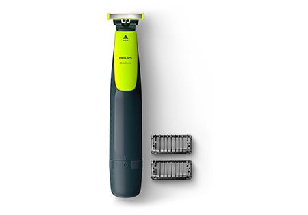 2 peines recortadores para barba extraíbles (de 1 y 2 mm) para una afeitada uniforme