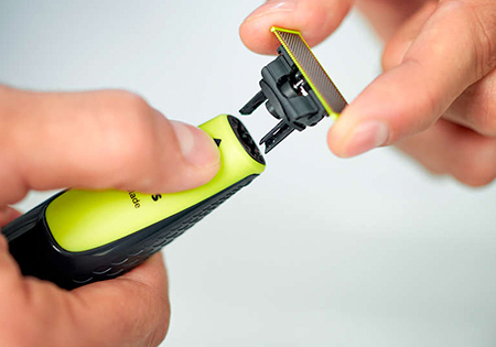 Cada cuchilla reemplazable dura 4 meses