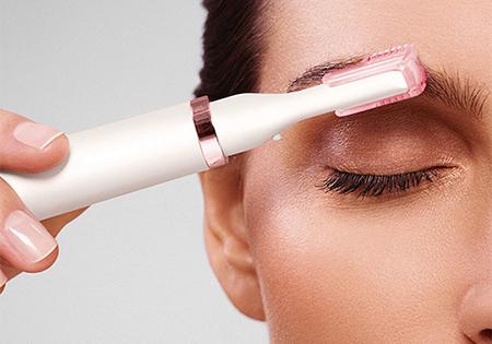 Peine-guía para cejas de 2 y 4 mm para unificar la longitud