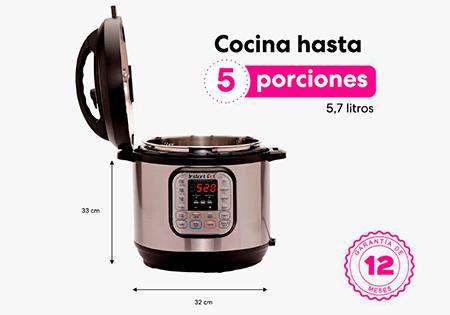 Cocina hasta 5 porciones
