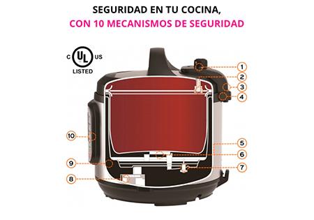 Seguridad en tu cocina, con 10 mecanismos de seguridad