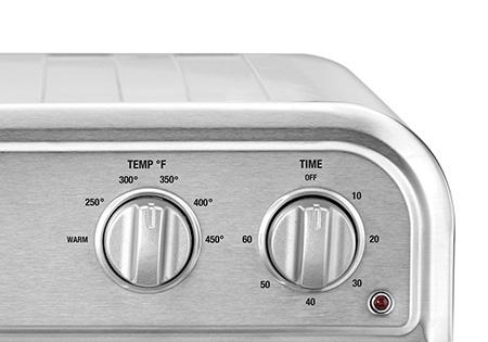 Tiempo y temperatura ajustable