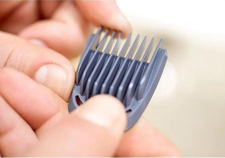 6 peines recortadores para cortar tu cabello y vello facial