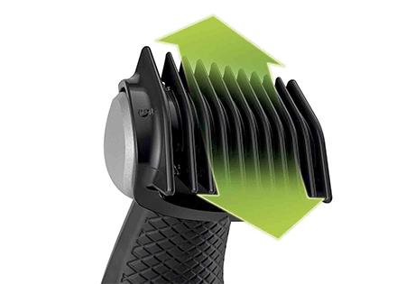 Incluye 1 peine recortador para conseguir un corte natural (3 mm)