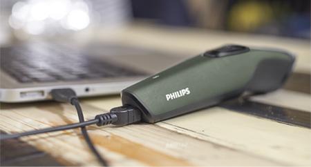 Carga por USB para un uso cómodo