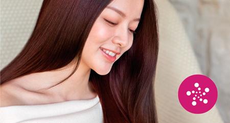 Cuidado iónico avanzado para un cabello brillante y sin frizz